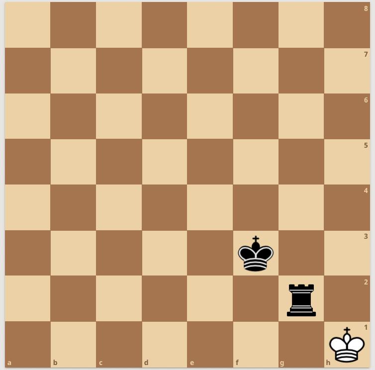Patt beim Schachspielen